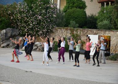 Hour of Zumba in Dubrovnik