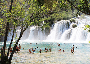 krka waterfls