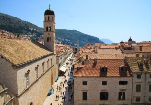 Eternally lively city of Dubrovnik