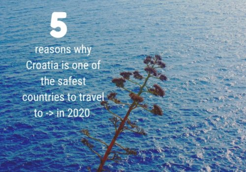 5 reasons why Croatia is safest to travel to