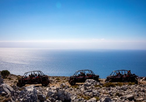 Buggy & cable car ride on Srđ mountain