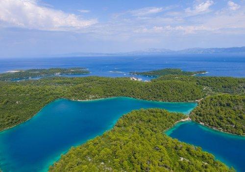 Mljet the greenest island