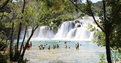Waterfalls of Krka